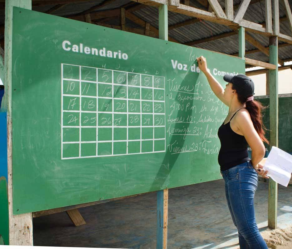 Community Message Board